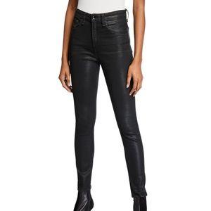 Rag & Bone Coated Black Jeans